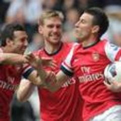 Koscielny clinches Champions League spot