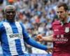 Wigan 2-2 Aston Villa: Points shared as Latics' eight-year stay in the Premier League comes to an end