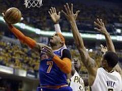star man anthony can't save the knicks from semi-final defeat against indiana