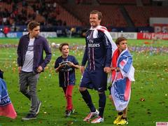 David Beckham Plays Last PSG Home Game: 'It Was An Emotional Night'