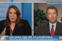 more political than policy? candy crowley confronts rand paul over motivation behind hillary criticism