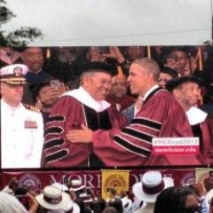 Instagram Photos: President Obama Speaks at 2013 Morehouse Graduation