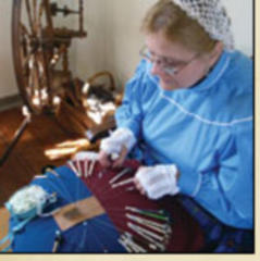 Living History Event Today at Powers-Walker House in Glacial Park