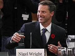 Prime Minister Stephen Harper's chief of staff Nigel Wright resigns