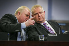 rob ford crack scandal: mayor's defender, his brother doug, breaks silence